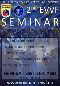 EVVF Seminar 2015 - Poster A3