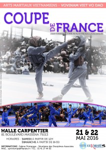 Coupe de France VOVINAM Enfants